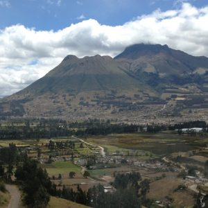 Volcan Equateur